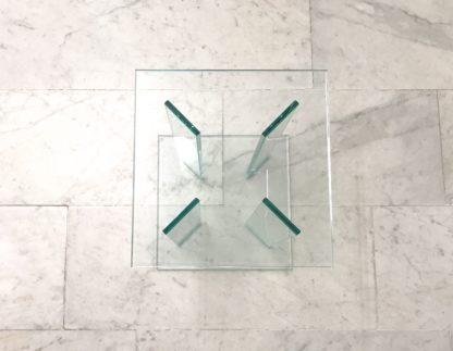 Glazen hoektafel London helder glas-3