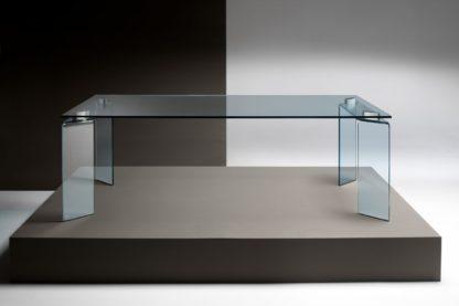 FIAM Glazen design tafel Ray