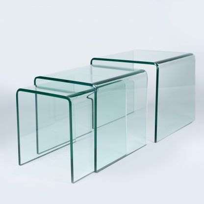 Glazen tafelset Orlando - helder glas