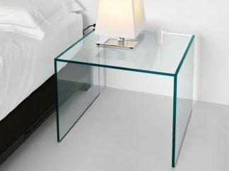 glazen hoektafel florida helder glas