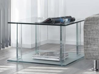 glazen hoektafel london - helder glas