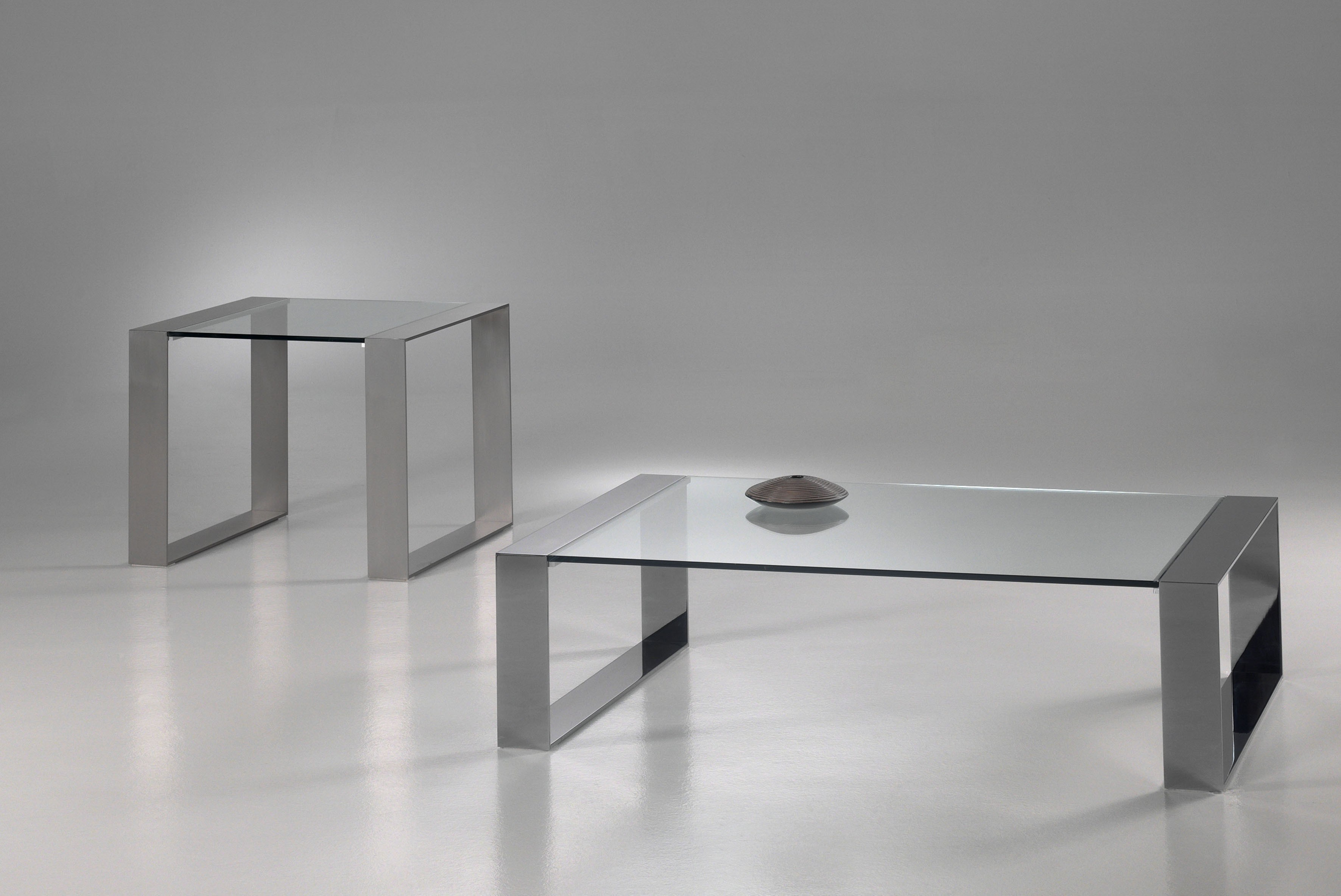 Glazen salontafel modena glazentafel