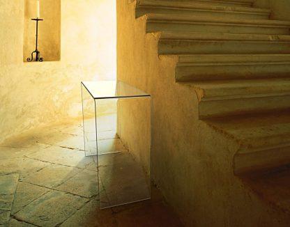 Glazen side table Biarritz