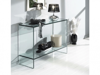 glazen side table dijon - haltafel in glas