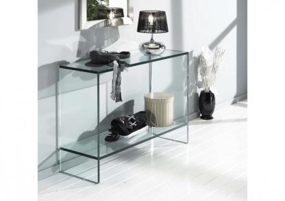 glazen side table dijon - haltafel in glas