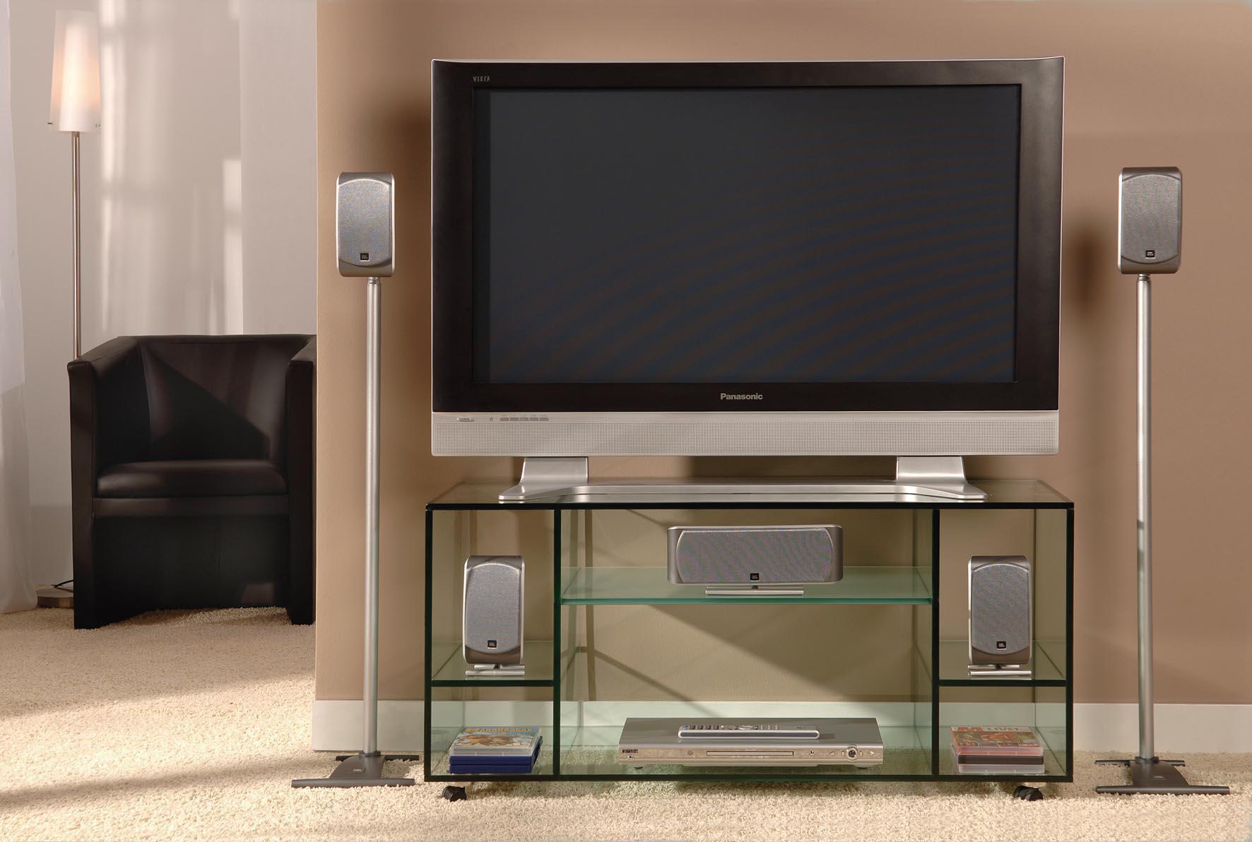 Glazen tv meubel lissabon op maat glazentafel