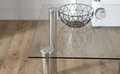 glazen eettafel barcelona helder glas