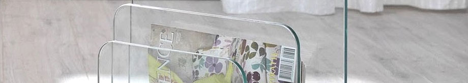 Glazentafel.com - Glazen lectuurtafel
