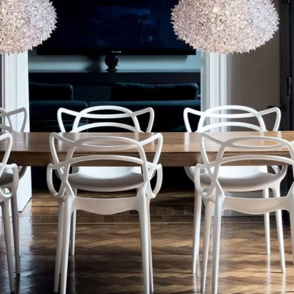 Kartell Masters stoel Wit